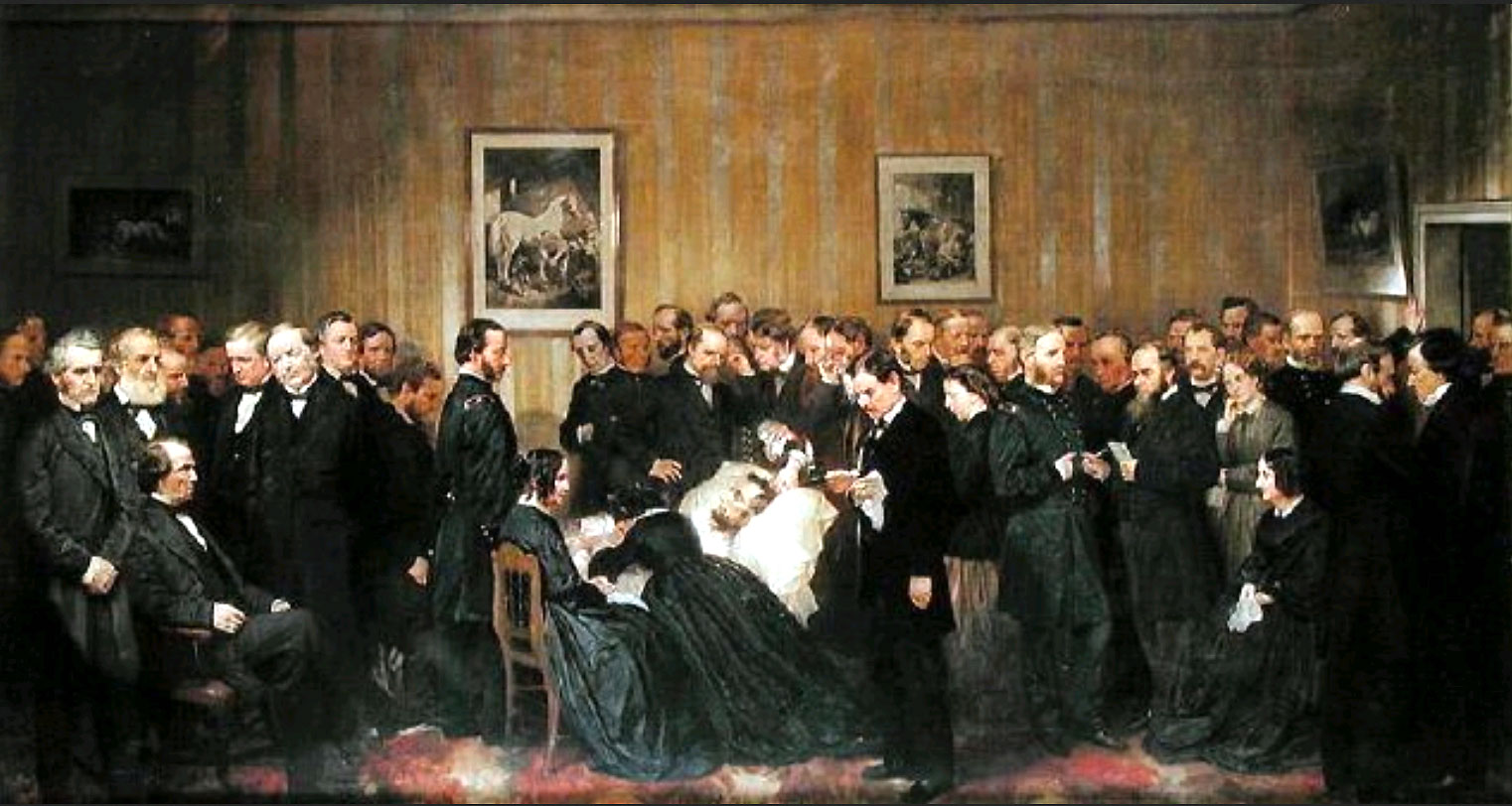 Free Materials Death Of Lincoln 1865 1868 Painting